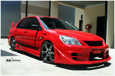 ACCOLADE MITSUBISHI LANCER CH 2003-2007 SEDAN FRONT BUMPER BODY KIT BY MONKEY