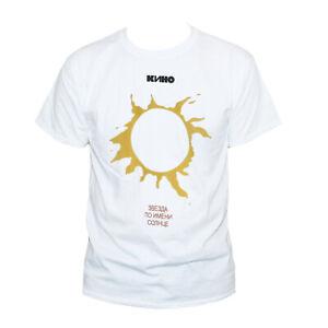 KINO T shirt-Zvezda Viktor Tsoi Russian Rock Punk New Wave Top S-2XL