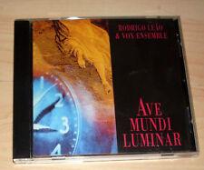 CD Album - Rodrigo Leao & Vox Ensemble - Ave Mundi Luminar