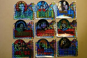 alte Prisma Aufkleber / Abziehbilder ( Holographische- reflektierende Folie