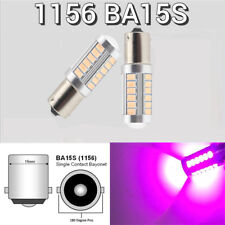 Backup Reverse Light 1156 BA15S P21W 7506 1141 SMD LED Purple Bulb K1 HA