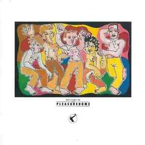 FRANKIE GOES TO HOLLYWOOD Welcome To The Pleasuredome Vinyl Record LP ZTT & 1984