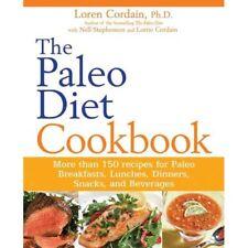 The Paleo Diet Cookbook by Loren Cordain Brand New Paperback Book WT66119