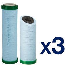 3pk 5 micron sedimento de doble capa y filtro de carbón
