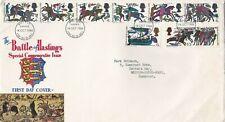More details for 14/10/1966 gb uk fdc - battle of hastings - bayeux tapestry -battle fdi postmark