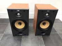 B&W DM601 S2 Bowers Wilkins Bookshelf Pro Speakers Audiophile England UK Made