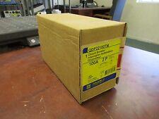 Square D Circuit Breaker QDP22100TM 100A 240V 2P 50/60Hz New Surplus