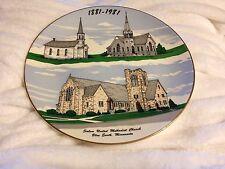 Salem United Methodist Church Blue Earth MN Plate