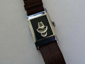 Fine Vintage Jump Hour Mechanical Watch c.1930's Rolex Marconi?