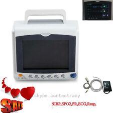 Contec ICU segni vitali del monitor paziente ECG,NIBP,SpO2,PR CMS6000C,garanzia