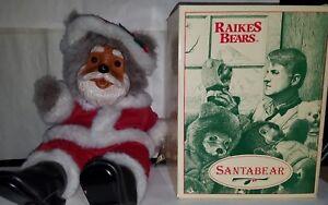 Robert Raikes Santa Bear with Box