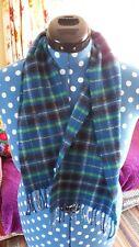 Gorgeous Brora Kids Wool Scarf Tartan Check