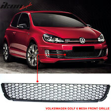 10-14 VW Golf/TDI/Jetta MK6 Honeycomb Mesh Lower Front Grille Grill - ABS