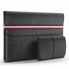 HOMIEE 15-15.4inch Laptop Sleeve Felt Protective Cover Case for Mac Pro/Dell/HP