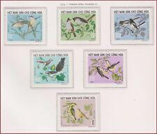 VIETNAM du NORD N°794/799** Oiseaux , 1973 North Vietnam 702-707 Birds MNH