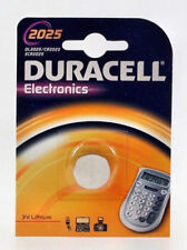 Duracell CR2025 3V Lithium Coin Cell Batteries - 2-Pack