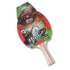 1 x THOR 2 Table Tennis Ping Pong Bat Classic 2 star Bat PIM-IN Rubber 1.5 mm