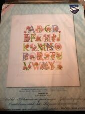 "VERVACO/VERACHTERT/SEPIA -CROSS STITCH KIT-"" Rose Alphabet Sampler """