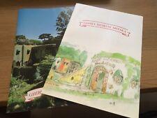 Studio Ghibli Museum Mitaka Tokyo Visitor Booket - Extremely Rare