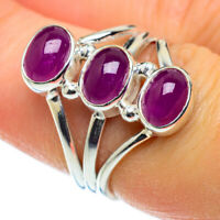 Pink Tourmaline 925 Sterling Silver Ring Size 7 Ana Co Jewelry R50453F