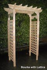 Garden Arches / Garden Arbors - Attractive Timber (BOL)