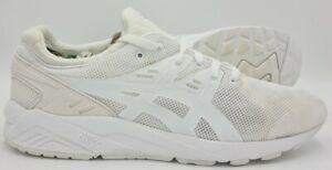 Asics Gel-kayano Running Trainers H6D0N Triple White UK11/US12/EU46.5