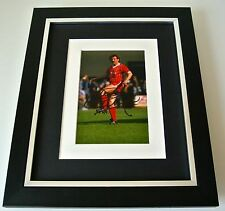 Alan Kennedy SIGNED 10X8 FRAMED Photo Mount Autograph Display Liverpool & COA