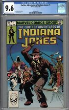 The Further Adventures of Indiana Jones #1 CGC 9.6 NM+