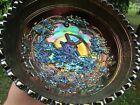 Imperial WINDMILL ANTIQUE CARNIVAL ART GLASS MID-SIZED ICS BOWL~PURPLE~BEAUTIFUL