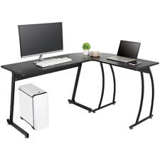 Home Office Desk L Shaped Desk Corner Computer Gaming Laptop Table Workstation