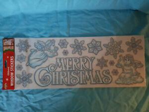 new christmas window stickers sealed