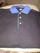 New Men's S La Loving Short-Sleeve Golf Polo Shirts Black 100% Cotton Small