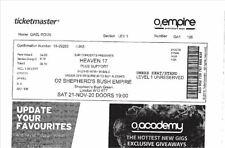 Heaven 17 ticket Saturday 05 November 2021