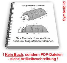 Traglufthalle selbst bauen - Tragluftdach Tragluft Konstruktion Technik Patente