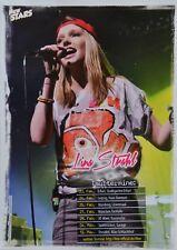 LINA LARISSA STRAHL - Star Card - Foto Karte Mini Poster Clippings Fan Sammlung