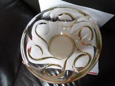 Bowl Uranium Italian Art Glass