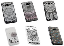 Ultra Slim Tattoo Design Handy Silikon TPU Hülle Cover Case Schutzhülle