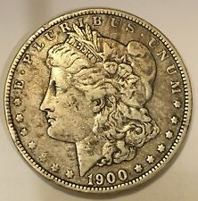 1900 USA  🇺🇸 MORGAN SILVER 1 ONE DOLLAR, Free Combined Shipping.