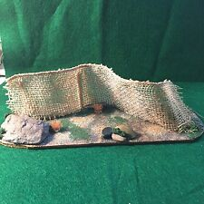 Warhammer 40K Ruined Fence Barier Handmade Hand Painted Table Top Gaming Terrain