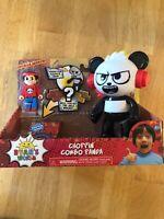 Ryan's World Choppin Combo Panda Vehicle & Action Figure Surprise Toy NEW