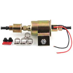 Universal Electric Fuel Petro Diesel Pump 12V Fit Car Carburetor Motorcycle ATV