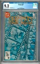 Batman #396 (1967) CGC 9.2 OW/W Pages  Moench - Mandrake