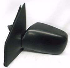 00-05 Toyota Echo Yaris Driver's Side View Mirror Black  OEM 1504810 Manual