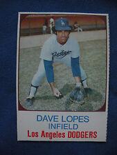 1975 Hostess Dave Lopes L.A. Dodgers card #67 baseball