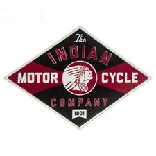 Indian Motorcycle Co Metal Vintage Style Metal Signs Man Cave Garage Decor 69