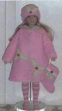 "Doll Coat Hat  Pattern fits 12"" 14""  Tonner Dreary Agnes Marley Wentworth,"