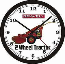 GRAVELY 2-WHEEL TRACTOR WALL CLOCK-FREE USA SHIP!