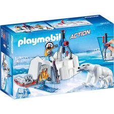Genuine Playmobil-acción Artic exploradores con los osos polares - 9056 (nuevo)
