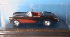 CHEVROLET CORVETTE CABRIOLET 1957 YATMING 1/43 AMERICA BLISTER PLASTIQUE