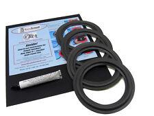 "Infinity RS5 RS 5 Speaker Foam Surround Repair Kit For 6.5"" Woofers 4 Pack"